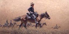 frank mccarthy illustrator artist | Frank McCarthy Artist on Pinterest | Native American Artists, Western ...