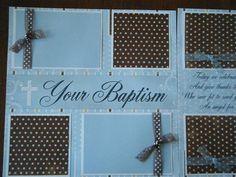 Baby Boy BAPTISM CHRISTENING Premade by moderndayquiltingbee