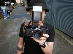 Totem Pole Photo Gallery, Shinjuku Black Paint Leica M4 with 35mm f2 Summicron…