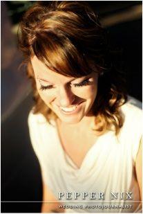 Pepper Nix photography shoot - makeup & hair