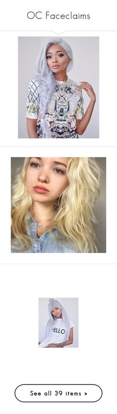 """""""OC Faceclaims"""" by gxxd-vxbes ❤ liked on Polyvore featuring dove cameron, hair, people, girls, models, cabelos, filler, magcon, cameron dallas and boys"""