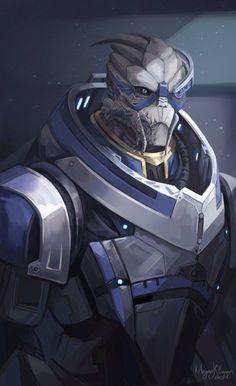 Mass Effect,фэндомы,ME art,Garrus