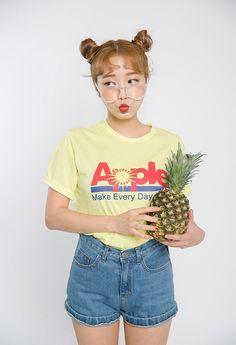 girls, korean fashion, and style image
