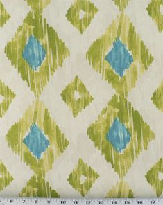 This is one of the fabrics for a glossy yellow dining room set - each chair will have different fabric in the same coloring!  Will post when finished with the set .