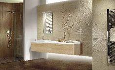 Sisustus - kylpyhuone - puuaiheinen