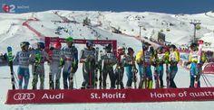 Tímová súťaž na MS 2017 v St. Moritz