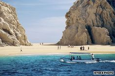Lovers Beach in Cabo San Lucas.