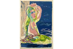 Midcentury Mermaid w/ Kelp, Kronfeld on OneKingsLane.com