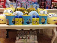The Card Shop - From the 'Despicable Me' Collection Biscuit Jar Pillow Cork City, Gifts Under 10, Kids Gifts, Biscuit, Water Bottle, Jar, Pillows, Children, Shopping