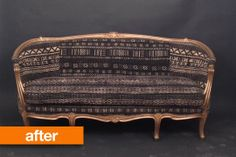 Before & After: A Mudcloth Masterpiece