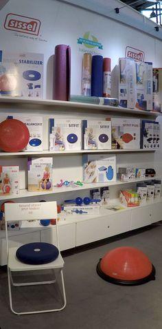 Unser Novacare/Sissel Stand auf der FIBO 2016 in Köln: Sissel Produkte