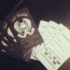 Boom Box Tattoo Business Card by Wellington Mota #business #card ...