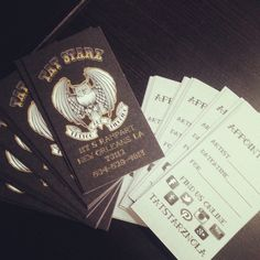 Kakia Tattoo Studio free PSD Business Card by mct2art | Photoshop ...