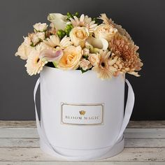 Send Get Well flowers with Bloom Magic! Let your loved ones know you are thinking of them with great flowers, bouquets & gift sets. Delivery throughout Ireland. Get Well Flowers, Anniversary Flowers, Same Day Flower Delivery, Calla Lily, White Roses, Pearl White, Flower Arrangements, Bloom, Florists