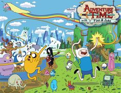 Adventure Time #1 wraparound cover
