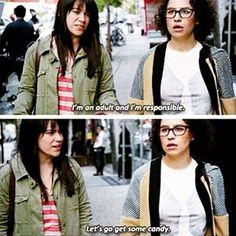 """When they knew how to properly take advantage of being an adult. 