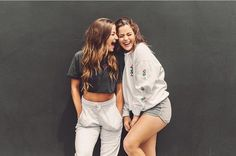 Tessa Brooks and Erika Costell