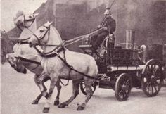Photo of a Horse drawn Fire Engine
