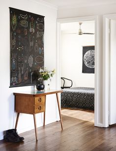 // suzy tuxen & shane loorham home. by eve wilson. via the design files.