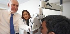 Anglia Ruskin open a new paediatric eye clinic on our Cambridge campus