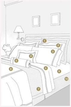 Tricks to Make Your Home Magazine Worthy How to arrange your bed.How to arrange your bed. Home Decor Bedroom, Diy Home Decor, Bedroom Ideas, Warm Bedroom, King Bedroom, Master Bedrooms, Bedroom Furniture, House And Home Magazine, Beautiful Bedrooms