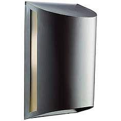 "Kichler Curve Bronze ENERGY STAR 12"" High Outdoor Wall Light"