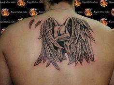 24 Compelling Fallen Angel Tattoo