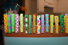 painted clothespin craft