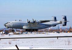 Russian Air Force Antonov An-22A Antei