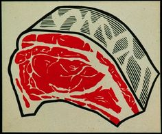 Roy Lichtenstein Meat