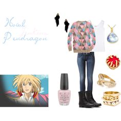 """Howl Pendragon"" by casualanime on Polyvore"