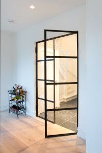 Preferro Stalen Deuren is de specialist in Nederland in het ontwerpen, fabricere. Preferro Steel Doors is the specialist in the Netherlands in the design, manufacture and assembly of steel do Doors Interior, House Design, House Interior, Home, Interior, Home Deco, Glass Door, Doors, Steel Doors