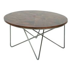 A black painted tabletop with bronze metal frame gives the Teton Home Minimalist Round Coffee Table a uniquely cool industrial look! Place this coffee table in front of your couch to embody a cozy and leisure life style and the polished aesthetic of minimalism. Crafted with a metal base and black tabletop, it perfectly complements contemporary or industrial interiors.