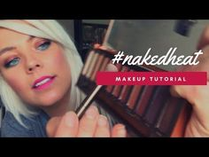 HOW TO | DIY | FULL FACE | MAKEUP TUTORIAL | NAKED HEAT PALLETTE - YouTube