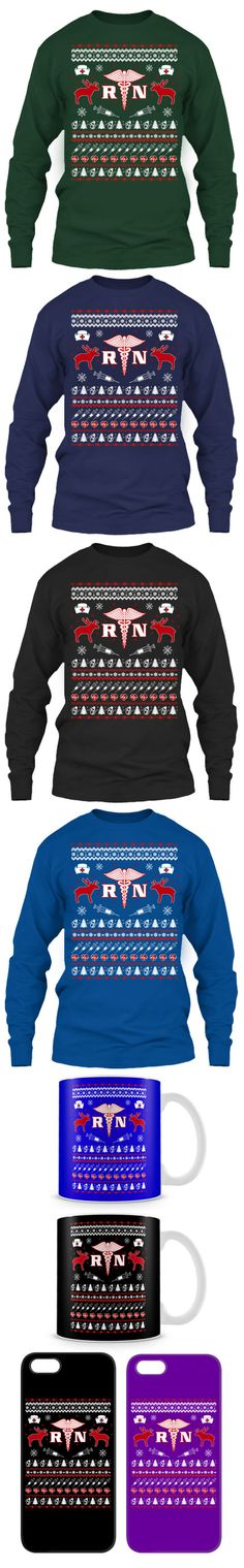 Nurse Ugly Christmas Sweater! Click The Image To Buy It Now or Tag Someone You Want To Buy This For.