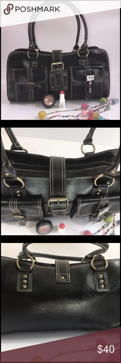 NEW Style & Co satchel! Brand new chic Style & Co satchel. Two front pockets, big inside with zip and two slide pockets. Measurement approx 151/2x5x71/2! NWT Style & Co Bags Satchels