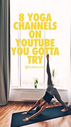 8 Free Yoga Channels on YouTube You Gotta Try --> zum optimalen Yoga Equipment geht's hier: --> klicken