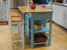 decoration splendid portable island for kitchen with seating and ikea red wire fruit bowl on top of solid wood countertops also wicker rattan baskets with handles ~ kitchen island plans