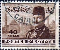 Egypt 1947 King Farouk SG 341 Fine Used SG 341 Scott 268 Other British Commonwealth Empire and Colonial stamps Here