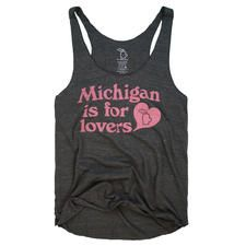 MICHIGAN IS FOR LOVERS RACERBACK