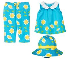 Gymboree Baby Girl Daisy Bow Set 0-3 Months $24.95