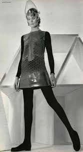 Risultati immagini per retro futurism fashion silver