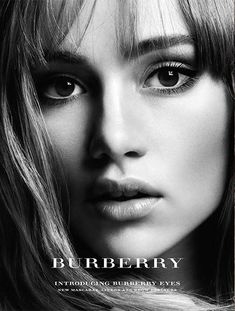 Suki Waterhouse for Burberry Beauty 2014 Campaign