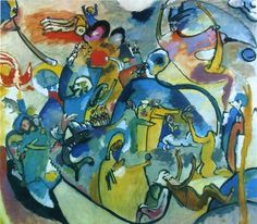 WASSILY KANDINSKY (1866-1944): ALL SAINTS DAY II. (1911)