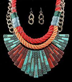 #ayami #maxi #collar #accesories #red