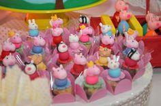 Festa Peppa Pig - Alegre e colorida   Macetes de Mãe