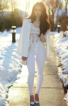 White Out | the Fashion Bybel  @carlibybel