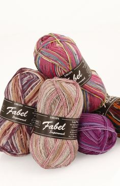 Příze DROPS Fabel long print 623 růžová mlha Katrincola yarn