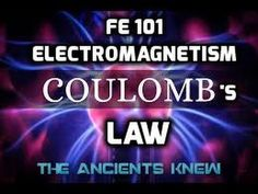 FE Electromagnetism 101; Coulomb's Law – The Geocentric Gnostic