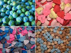 Wedding Favor Seed Bombs- wildflowers sprout out and can choose to customize with your wedding colors! good idea